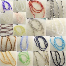 4mm (120 Pcs)  Czech Crystal Bead Spacer Craft Loose Beads Jewelry DIY