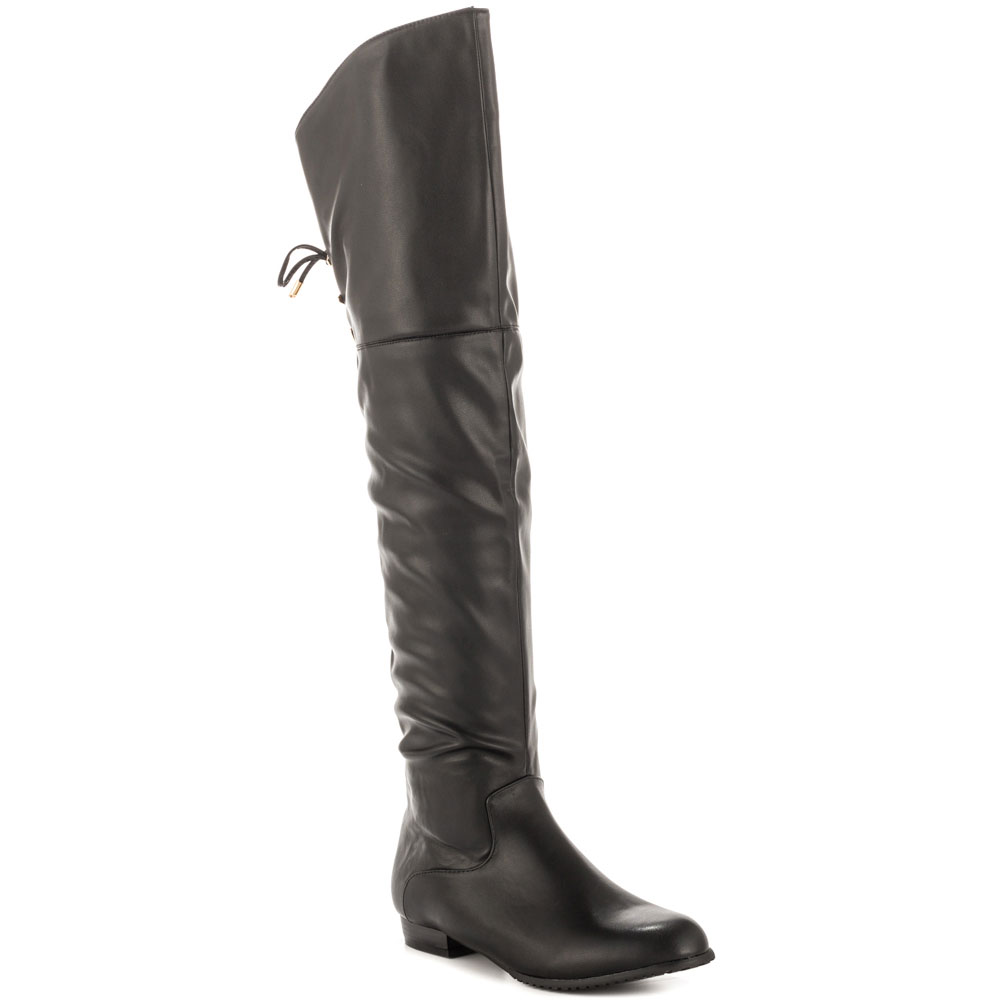 Popular Flat Black Boots-Buy Cheap Flat Black Boots lots from