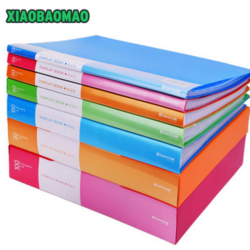 A4 Document Storage Filing Products Insert Test Paper Booklet Folder Multi-layer 10/20/30 Sheets Fichario Escolar