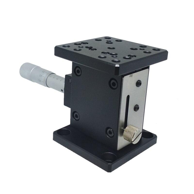 PT-SD402 Precise Manual Lift, Z-axis Manual Lab Jack, Elevator, Optical Sliding Lift, 25mm Travel linear table z axis precise manual lift manual lab jack elevator optical sliding lift travel 60mm pt sd408