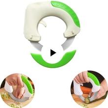 Универсальный нержавеющая сталь круглой формы Rolling круговой кухня нож для пиццы мясо торт овощи разделочный кухонный нож