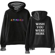 LUCKYFRIDAYF Fashion Travis Scotts ASTROWORLD Print Spring/Autumn Warm Cool Long Sleeve Sweatshirts Hoodies Women/Men Clothes