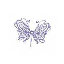 2019 New Arrival Butterfly Metal Cutting Dies Stencil Decoration Stunning Cutter Die For Scrapbooking Embossing