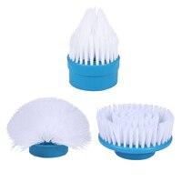 Turbo scrub casa de banho ferramenta limpa rotação da banheira escova power cleaner banheira telhas power floor cleaner escova mop esfrega limpo