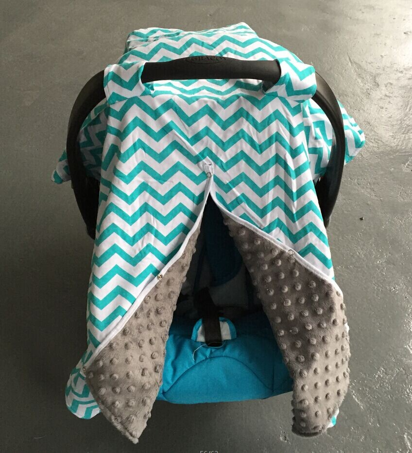 2016 new free shipping baby Car Seat Canopy cover infant Car Seat Canopy children chevron Car Seat carseat cover baby canopies