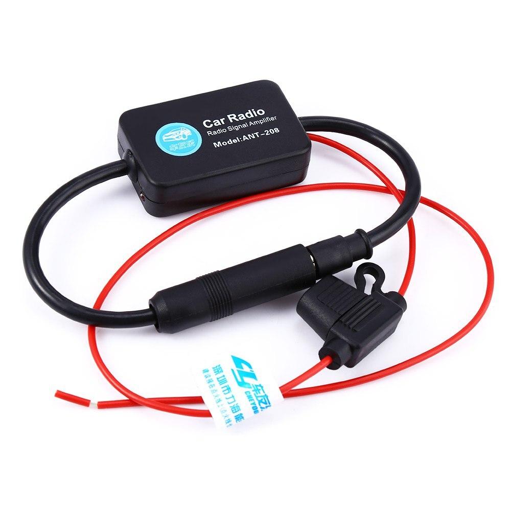 Aliexpress com buy universal auto car radio fm antenna signal booster amp amplifier for marine car vehicle boat rv 12v signal antenna enhance from