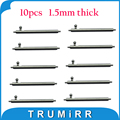 10pcs Per Lot Quick Release Pin Stainless Steel Spring Bar with Push Button 1.5mm Diameter for Watch Band 18mm 20mm 22mm 23mm
