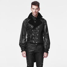 PUNK wholesale PUNK cotton man gothic waistcoat punk jacket