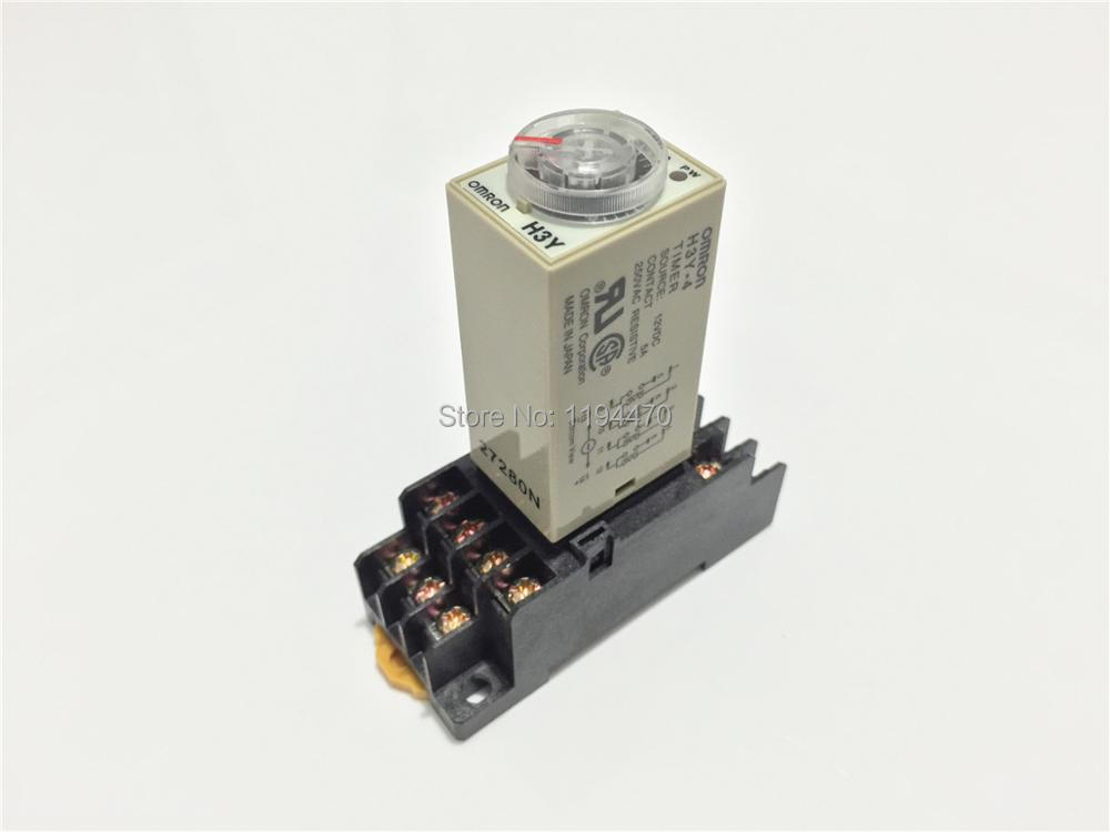 5 sets/Lot H3Y-4 DC 12V 10S Power On Delay Timer Time Relay 12VDC 10sec 0-10 second 4PDT 14 Pins With PYF14A Socket Base 5 sets lot ly4nj 12v dc power relay hh64p ly4n j miniature relay 4pdt 4no 4nc 14 pins 10a 250vac with ptf14a socket base
