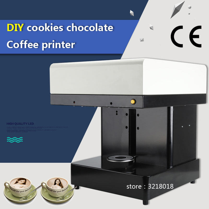 Factory direct hot sale Cappuccino 3d/Cake Selfie Latte Art Coffee Printer Face Machine/Chocolate Printer with Food ink тарелка раскраска food face дешево
