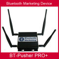 long range bluetooth proximity marketing transmitter BT-Pusher PRO+ with car charger(promote your business anytime anywhere)