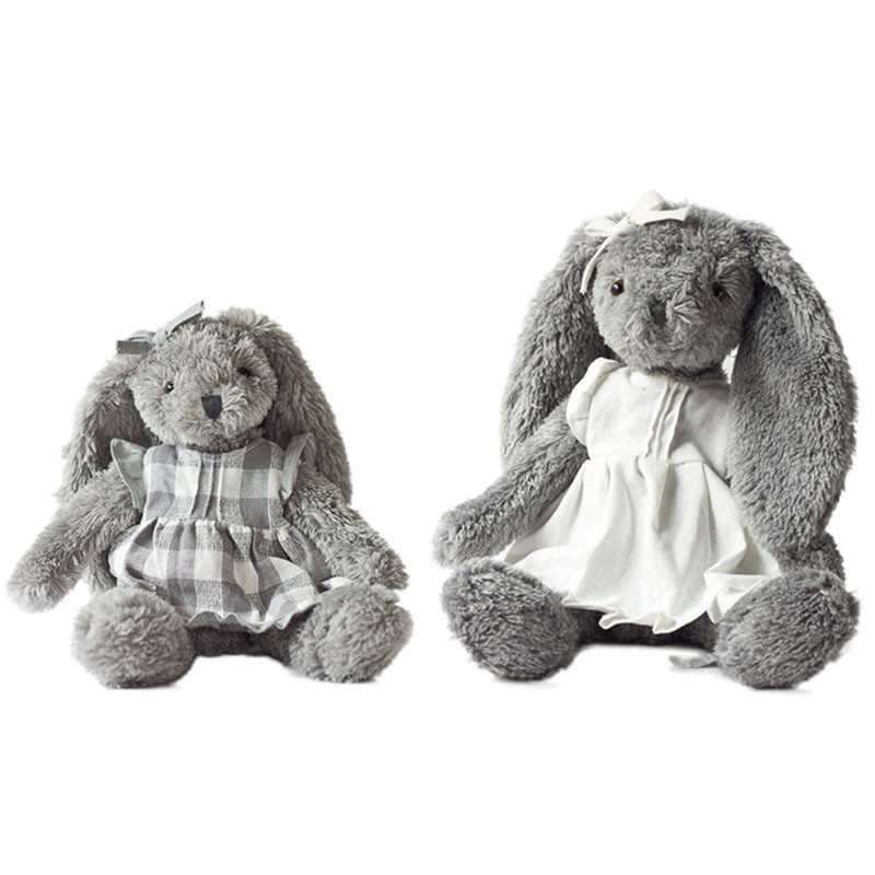 32/45cm Rabbit Stuffed Animal Anne Abby Cartoon Plush Toy Cute Bear Doll for Kids Baby Christmas Birthday Gifts Baby Playpens