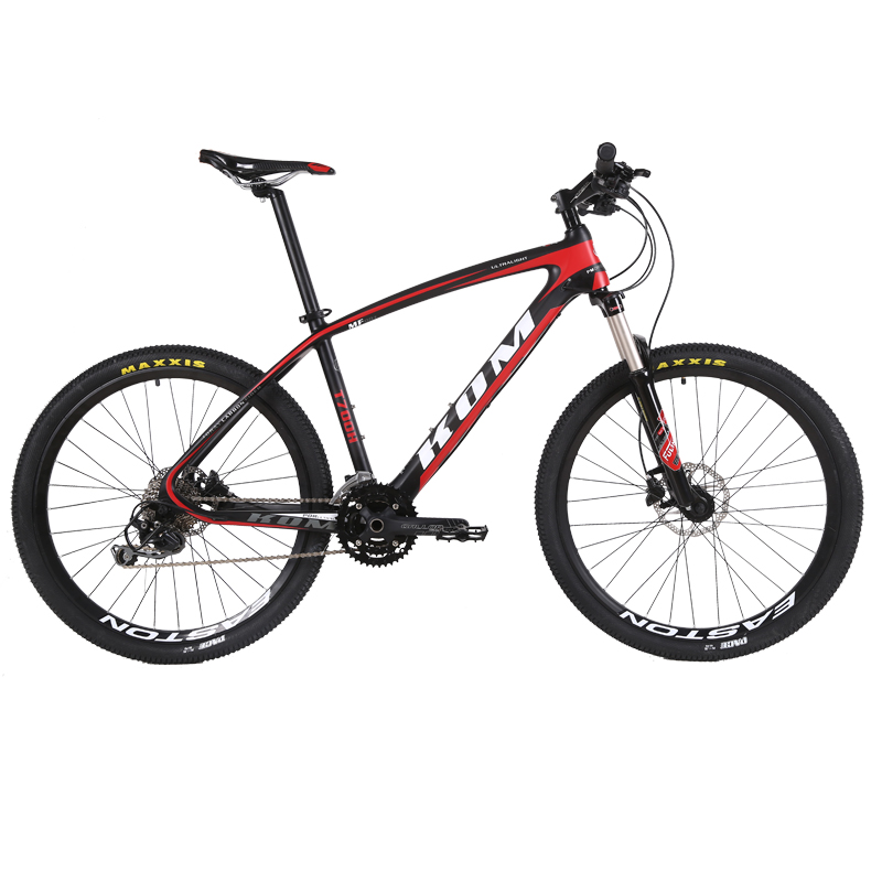 free shipping carbon fiber mountain bike 27 30 font b speed b font lightweight double oil