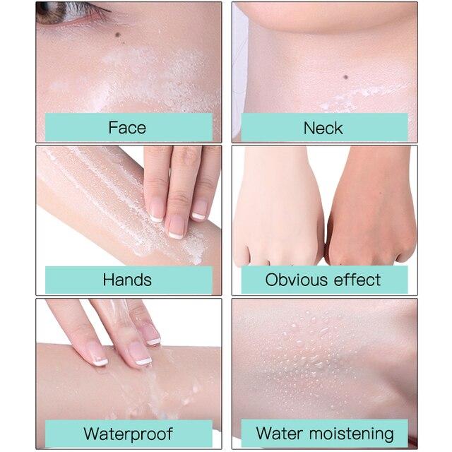 Nicotinamide isolation protection solaire vaporisateur facial étanche UV hydratant bras cou corps 150ml