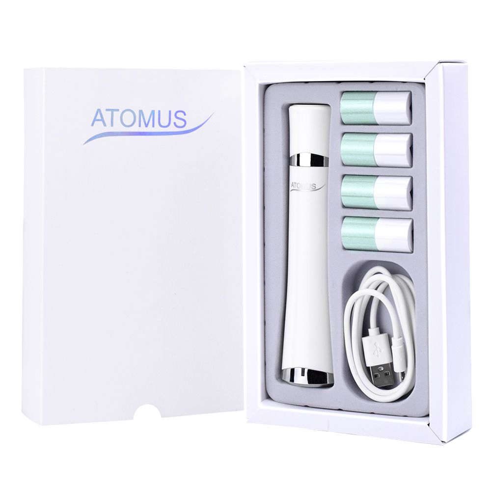 ATOMUS Electric Nail Art Tips Manicure Tools Nail Care Fingernail Machine Nail Polishing Grinding Manicure Pedicure Tools Set vibration type pneumatic sanding machine rectangle grinding machine sand vibration machine polishing machine 70x100mm