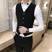 2017 Summer Mens Wedding Stage Show Gold Shiny Sequins Waistcoat Blue Black Silver Pink Rose Yellow