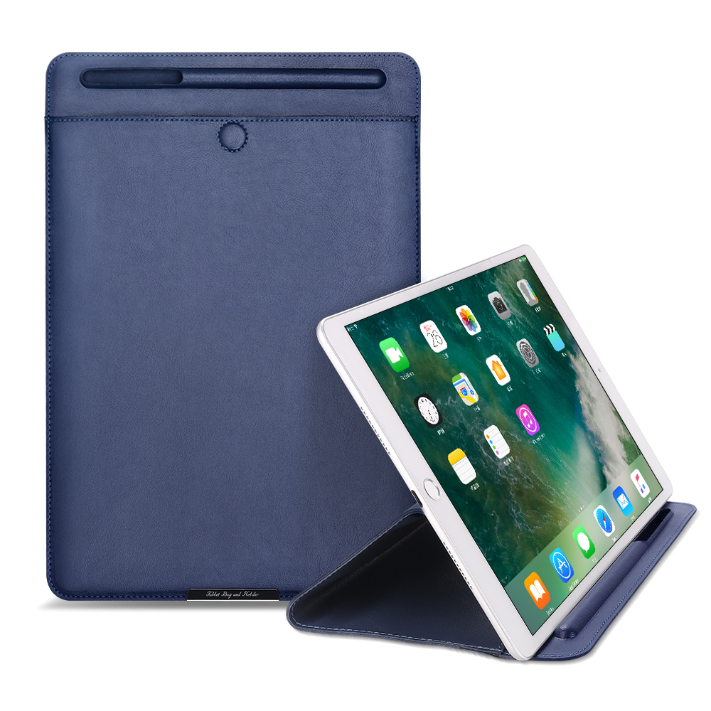 Sleeve Bag Pouch Case For iPad mini 1 2 3 4 air 1 2 pro 9.7 2017 2018 9.7 pro 10.5 Sleeve Cases with Pencil Holder Slot Cases