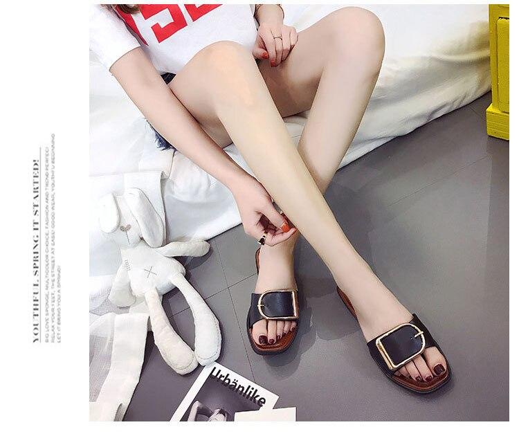 Summer Women Slides Fashion Women Slippers Sandals Soft Soles Home Bathroom Slippers Beach Flip Flops Shoes Woman Outside Flat
