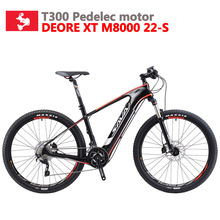 3a34f849e90 SAVA Audlt Electric Bike Carbon Electric mountain bike Powerful ebike Electric  bicycle with Shimano M8000 and