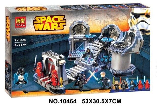Duelo final kits de edificio Modelo compatible con lego Star Wars bloques 3D aficiones modelo Educativo y juguetes de construcción para los niños