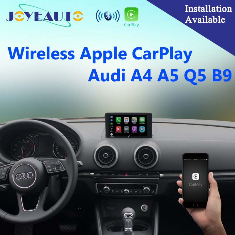Aftermarket A3 A4 A5 Q7 B9 MIB OEM Wifi Senza Fili di Apple CarPlay Multimedia Interface Retrofit per Audi con la Macchina Fotografica D'inversione