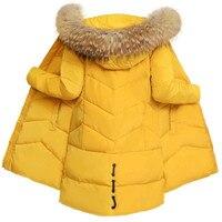 Women Jacket Winter 2018 New Fur Collar Overcoat Fashion Medium Long Coats Thick Warm Outerwear Large Size Slim Coat Parka Vs249