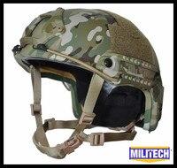 ISO сертифицировано MILITECH MC DELUXE червь циферблат NIJ уровень IIIA быстро высокой Cut Пуленепробиваемый Арамидных Баллистических Шлем с 5 лет Гарант