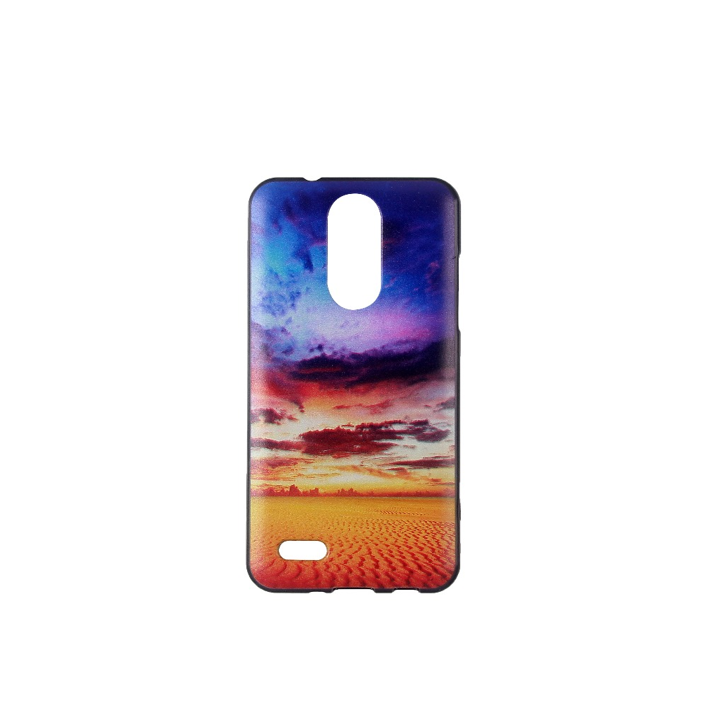 For LG K4 2017 Case Silicon Soft TPU Printed Cover Case For LG K4 2017 Cartoon Cover Smart Phone Case Coque