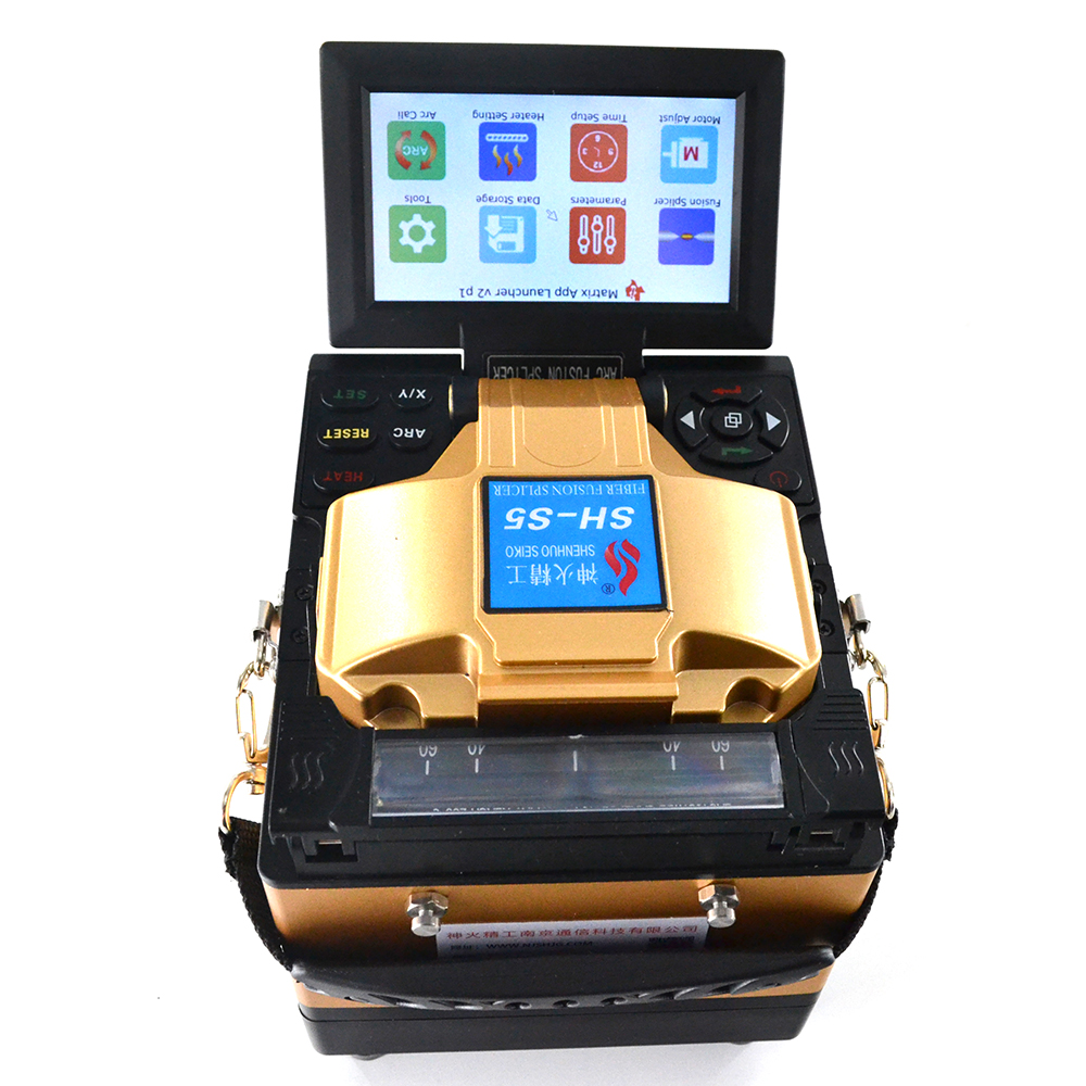 GUYANG SH-S5 FTTH Optical fiber welding machine optic fusion splicer GUYANG SH-S5 FTTH Optical fiber welding machine optic fusion splicer