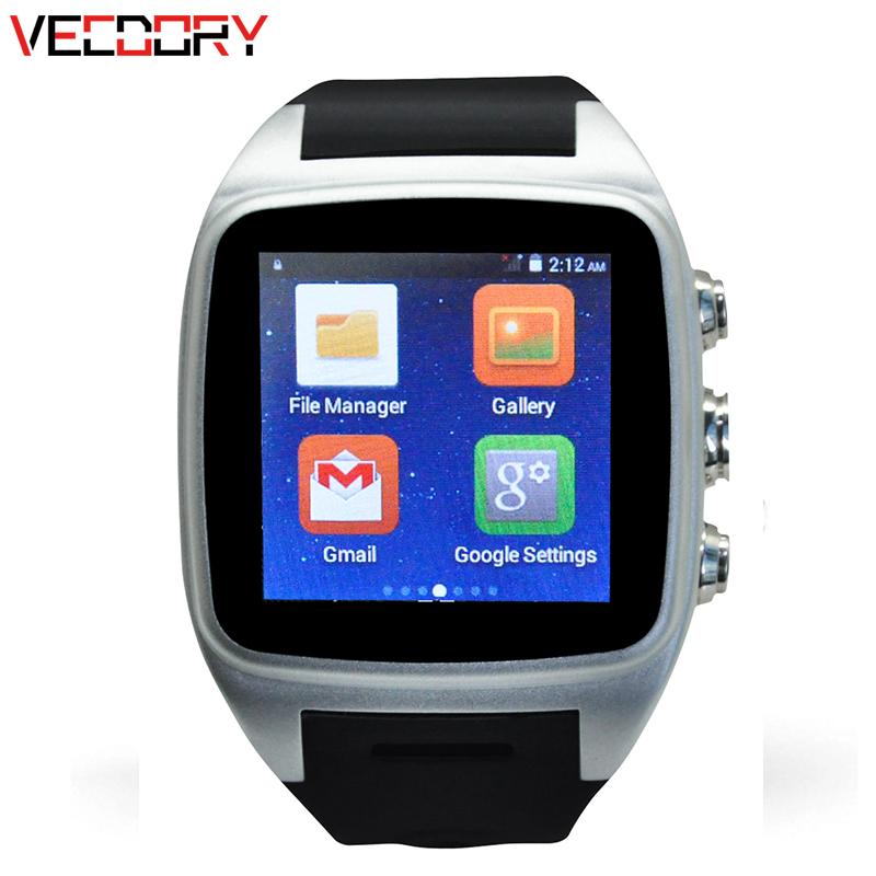 Vecdory Bluetooth Smart Watch GPS Tracker Watches Smart Watches 512M+4G Smart Electronics 3G WIFI Smartwatch Support 32G TF Card vecdory android smart watch gps watch android wear smart watches 3g wifi 512m 4g bluetooth smartwatch sim support 32g tf card