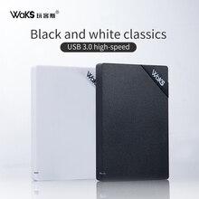 Waks внешний жесткий диск usb 3,0 1 ТБ 2 ТБ 120G 500G disco externo HDD usb оригинальное устройство для хранения симпатичный usb флэш-накопитель 32 gb