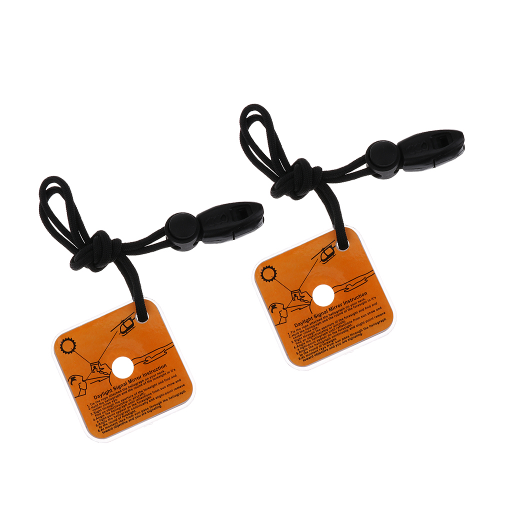 Outdoor Signal Mirror Lightweight Survival Emergency Rescue Signaling Device  TB