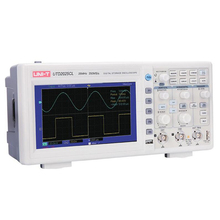 UNI-T UTD2025CL Digital Storage Oscilloscopes 2CH 25MHZ 250MS/s with 7 Inches Widescreen LCD Displays m104gnx1 r1 lcd displays