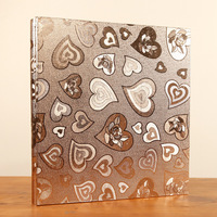 High Quality 600 Pockets PU Leather Photo Album Vintage Carved Handmade DIY Insert Scrapbook Foto Albums