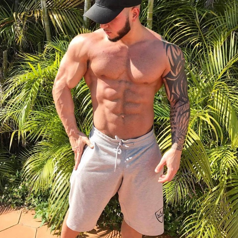 Muscular Giants 2018 Quality Men Brand Fitness Shorts Mens Professional Bodybuilding Short Pants Brand Big Size M-XXL