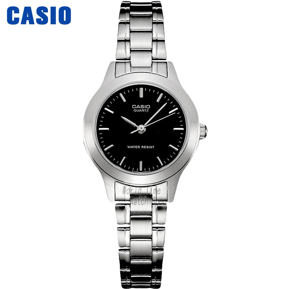 Casio watch business fashion quartz female watch LTP-1128A-1A часы casio ltp e118g 5a