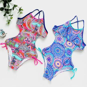 Nowy 2019 jednoczęściowy strój kąpielowy dla dziewczyn dzieci strój kąpielowy 10-16 lat dzieci jednoczęściowe stroje kąpielowe 2019 strój kąpielowy G1-CZ906 tanie i dobre opinie XABER KIN NYLON Poliester Dziewczyny Floral Pasuje prawda na wymiar weź swój normalny rozmiar One Pieces Swim 20cm x 20cm x 5cm (7 87in x 7 87in x 1 97in)