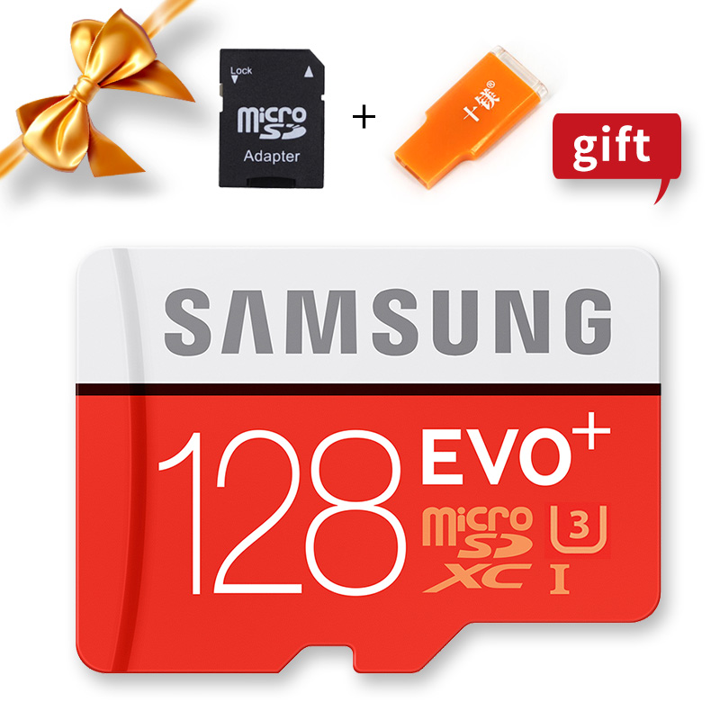 Image 5 - SAMSUNG 100% Original Micro sd Card 256G 128GB 64GB 100Mb/s Class10 U3 U1 SDXC Grade EVO+ flash card Memory Microsd TF/SD Cards-in Memory Cards from Computer & Office