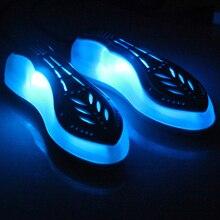 Электрическая ультрафиолетовая сушилка для обуви 220 В, Ультрафиолетовый стерилизатор для обуви, нагреватель для обуви, сушилка для обуви, домашний портативный нагреватель для обуви