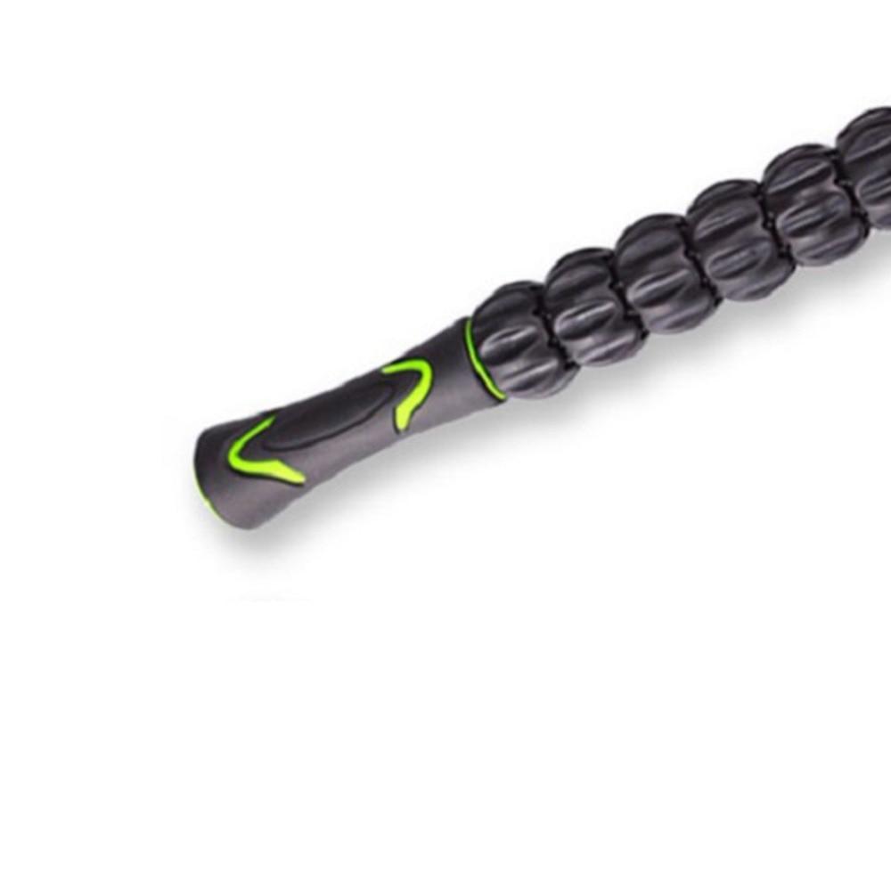 Muscle Massage Stick Yoga Deep Muscle Relaxation Tool Universal Massage Shaft Gear Massager Muscle Massage Roller