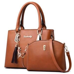 Image 3 - Sac à main polyvalent pour femmes, sac à bandoulière Simple et en diagonale, sac Composite printemps et automne, Fashion C41 67