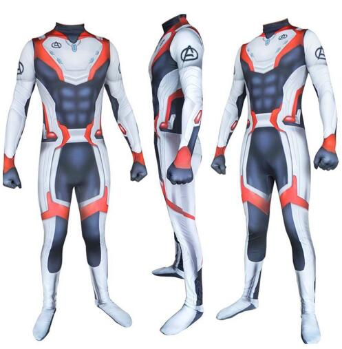 Avengers 4 Quantum Realm Suits Avengers 4 endgame cosplay superhero outfit