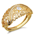 Новый Роскошный Браслет для женщин AAA Кубический Цирконий Свадебные Украшения Бескадмиевый Lead Free Свадьба Ювелирные Изделия