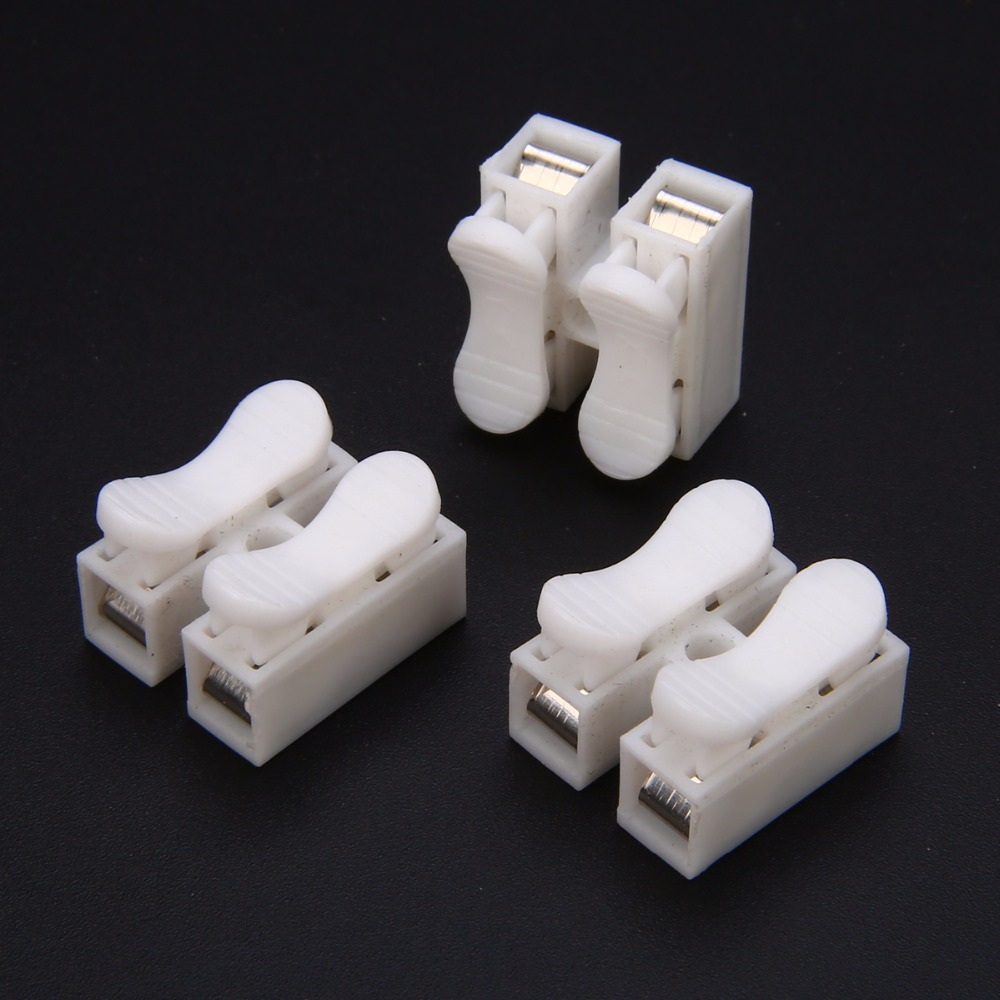 30pcs CH2 Quick Splice Lock Wire Connectors 2Pins Electrical Cable ...