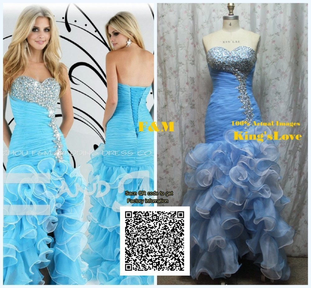 cb5fa2934961 2016 New Hot Sell Two Piece Prom Dresses Sparkle Beads Crystals ...