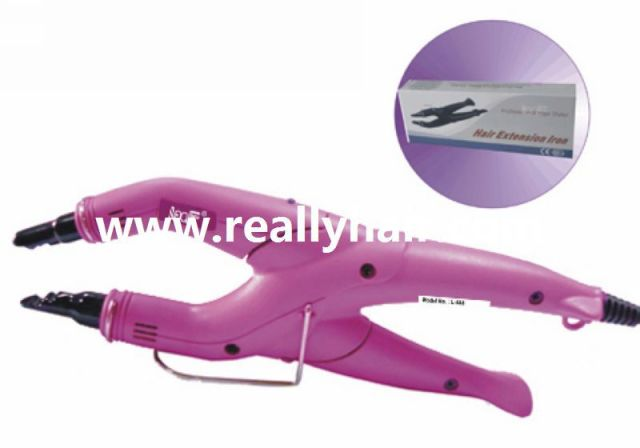 hair extension fusion connectors 668 size color pink