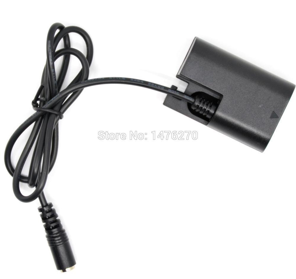 DR-E6 DC Coupler Connector LP-E6 dummy battery fit External power charger for Canon EOS 5D Mark II III EOS 5D2 5D3 6D 7D 60D 5D2 цифровая фотокамера canon eos 7d mark ii body wi fi adapter 9128b128