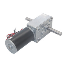 DC 12V Gear Reduction Motor Worm Reversible Geared Motor High Torque Gear Motor 12-470RPM Electric Gearbox Reducer Motor zga37rg 12v dc 100 rpm gear box motor 1 34 5 high torque 3500r min reversible motor