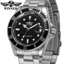 Ganador Del Reloj Automático de Los Hombres Classic Bisel Dial Relojes Mecánicos Hombres Top Reloj de Lujo Relojes de Marca Negocio de La Moda Masculina