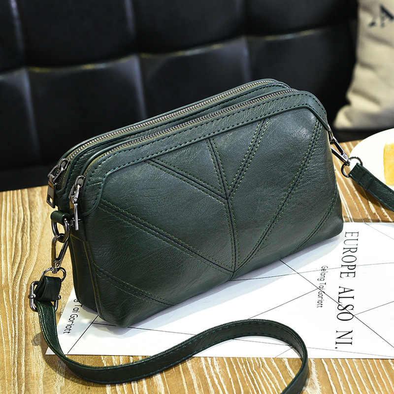 2151d6754f57 2017 Girls Handbag Shoulder Messenger Crossbody Bag Small Designer for  Women Fashion Solid Soft Bags Portable